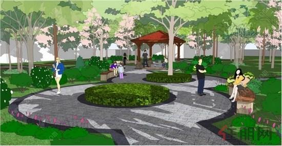 中庭景观园林设计图出炉