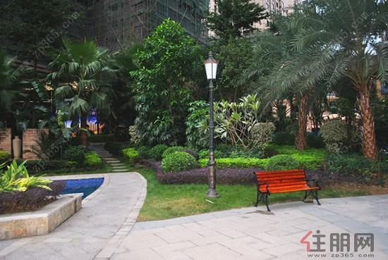 园式园林 洋溢东南亚异域风情