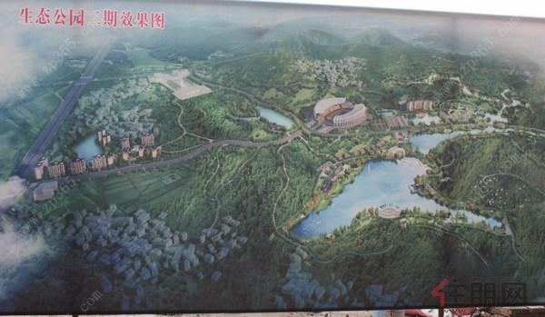 据华鹏国际销售经理介绍,华鹏地产与平南县政府共同开发打造龚州生态