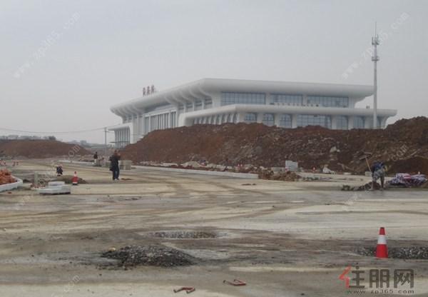 贵港市加快推进高铁站前广场和北山公园项目建设图片
