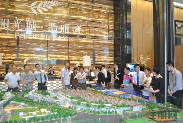 空间实用率超200%阳光城翡丽湾联排别墅红别墅3号滨江丹东图片