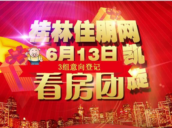 6月13日临桂看房团凯旋