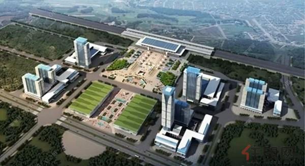 贵港强力推进高铁站前广场建设 打造城市新名片