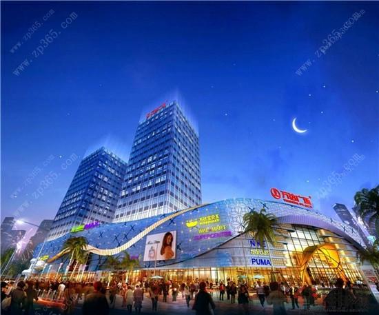 南宁江南万达广场大商业沿街透视效果图-聚宝旺铺掘金有道 江南万达