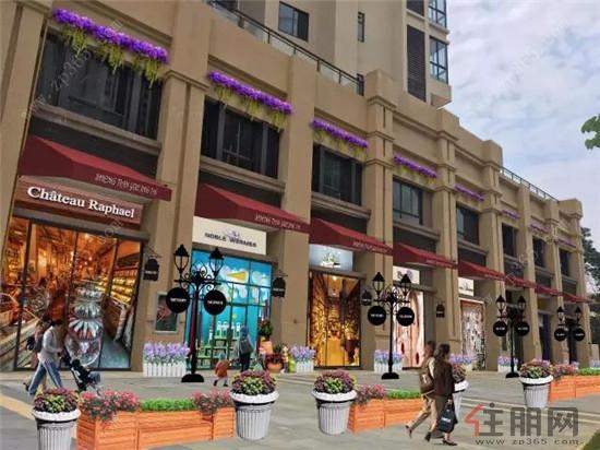 柳州纯正法式薰衣草风情商业街即将亮相