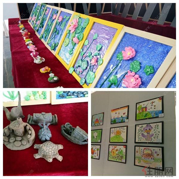 宁越花园杯千寻美术第二届儿童画展活动精彩开幕