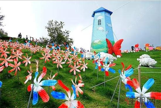 龙光阳光海岸防城港2017荷兰风车文化节隆重开幕
