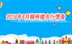 柳州6月楼市行情表