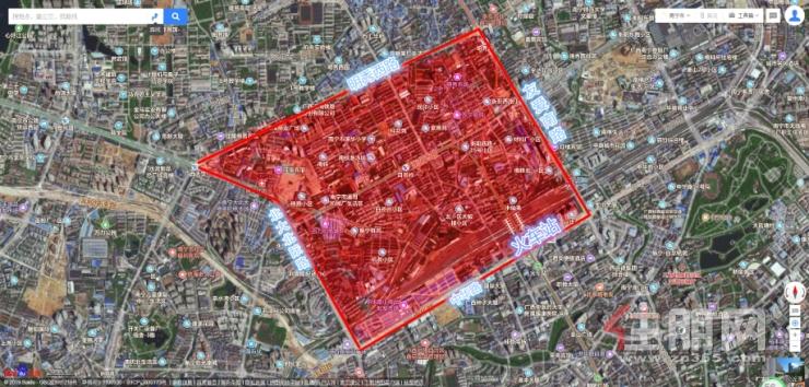 地鐵小鎮片區劃分