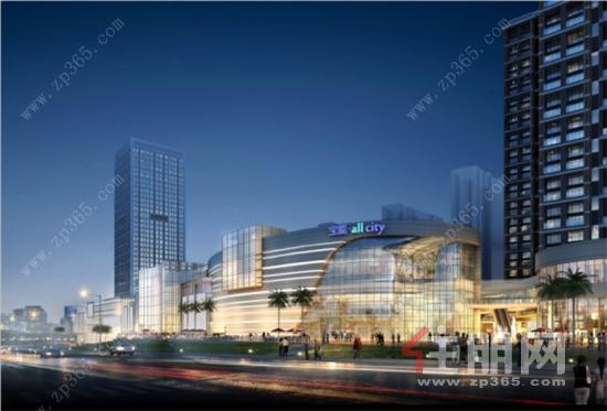 住朋网宝能城市广场约8万㎡ 商业MALL加速呈现,五象东繁华可期625.png
