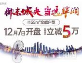 柳州万象府建面约135㎡全能户型 12月7日耀世开盘