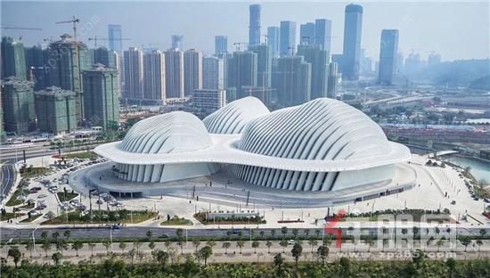 广西艺术中心实景图