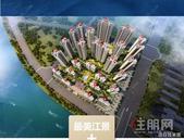 【彰泰·十里江湾】惊艳贵港的十字单体楼神户型,原来在这里!