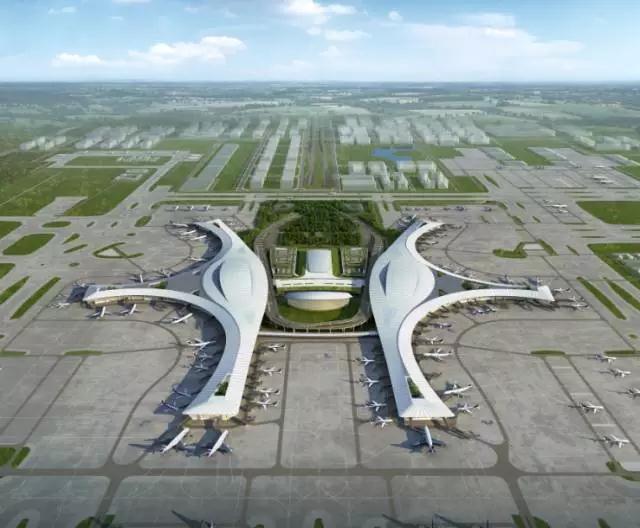 南寧國際空港綜合交通樞紐項目效果圖
