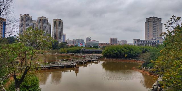 贵港公园美景