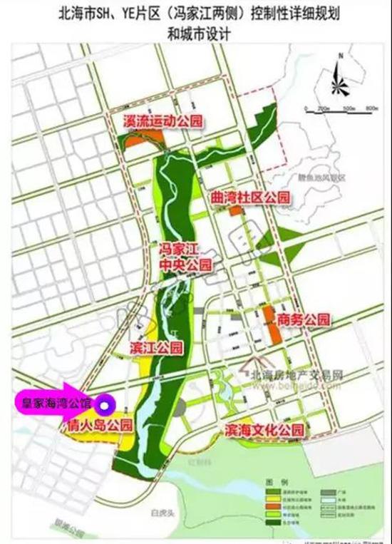 冯家江规划示意图