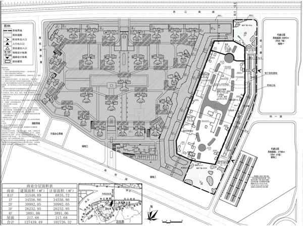 梧州万达广场规划图