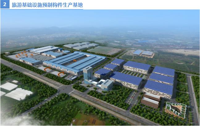 旅游基础设施预制构件生产基地