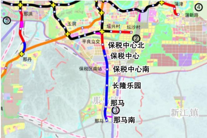 3号线南延线站点