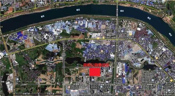 荣和公园里项目区位图