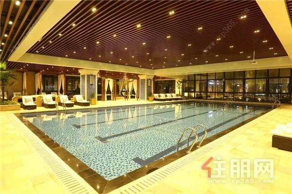 项目恒温泳池实景图
