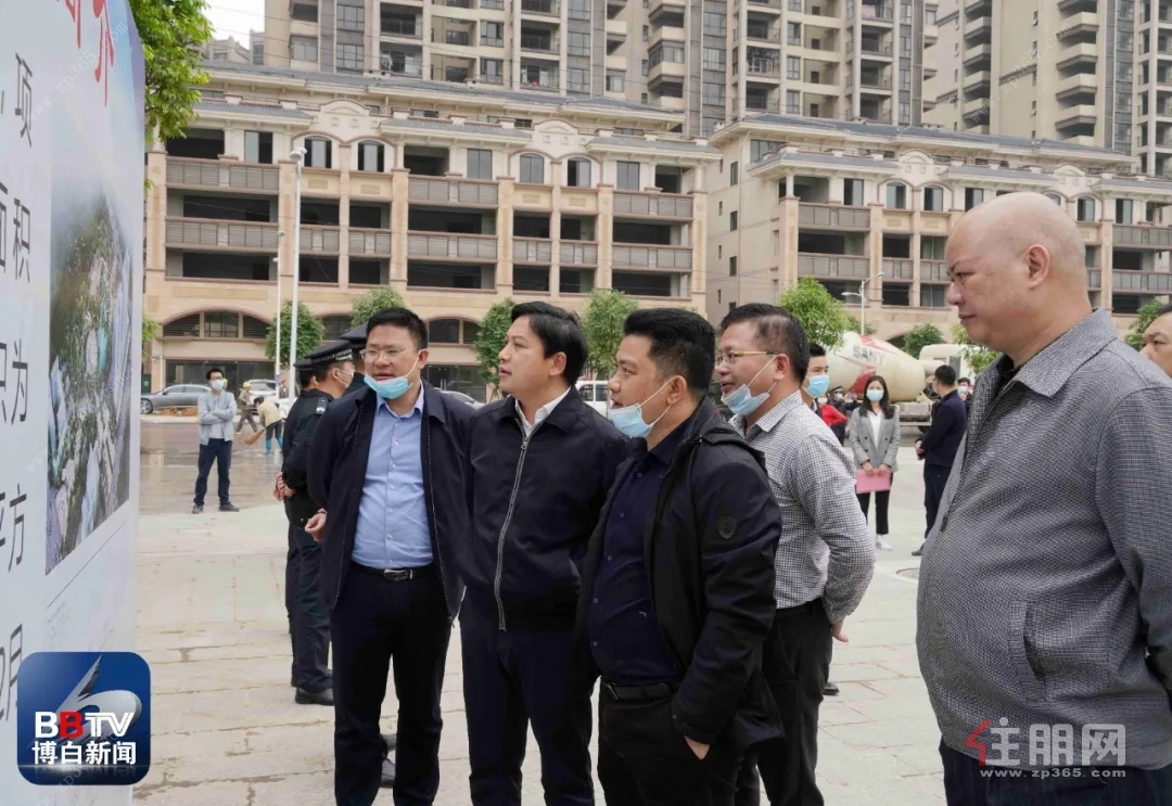 博白县城南公园项目竣工仪式