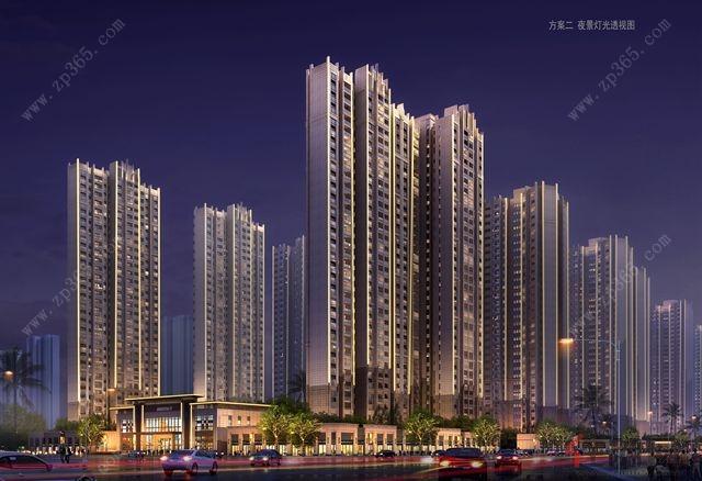 桂平奥园冠军城项目效果图