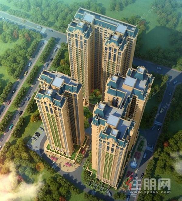 龙凤江城效果图