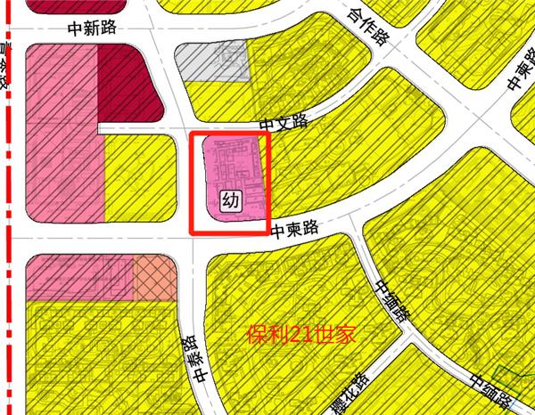 南宁市中心城区FL-12单元控制性详细规划及城市设计幼儿园位置示意图.png