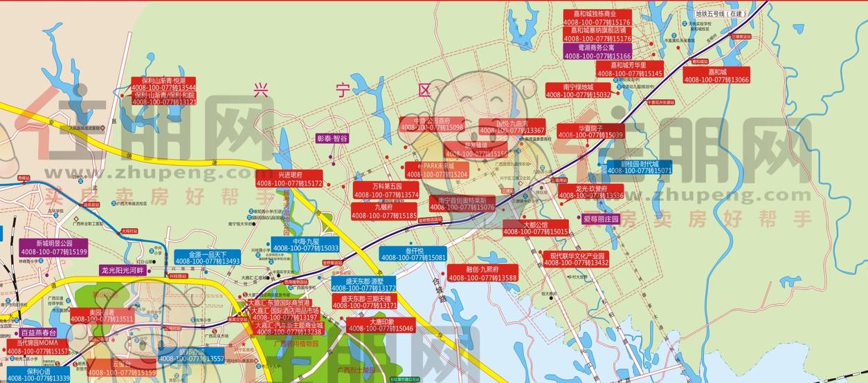 兴宁区楼市地图