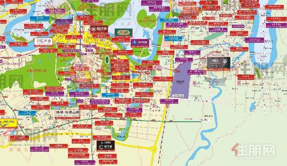 五象新区楼市地图
