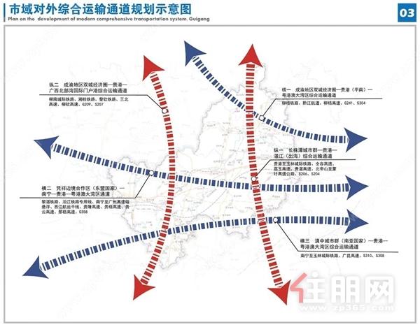 贵港综合交通规划图
