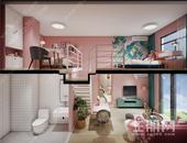 广源·凤岭壹号院 | 30平米复式公寓 买一层得两层