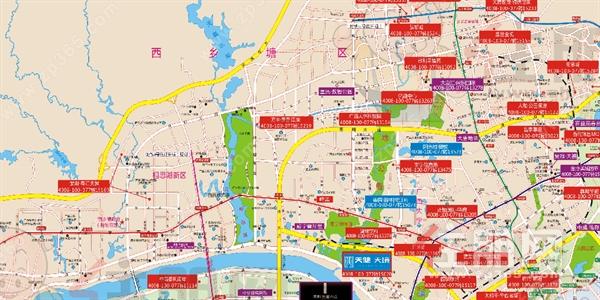 11盘3万+! 南宁9月最新房价地图来了! 看看你家房子值多少钱?