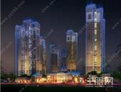 八桂绿城·龙庭水岸,稀缺的半围合式简欧风情建筑