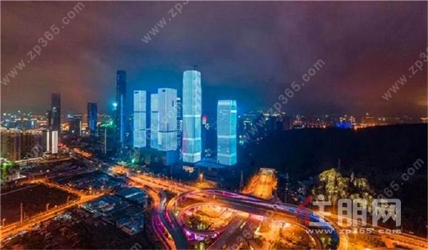 龙光国际五象大道与平乐大道交汇处,城市新风景