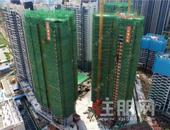 建設進度加快, 吉祥·鳳景灣有樓棟封頂了啵!