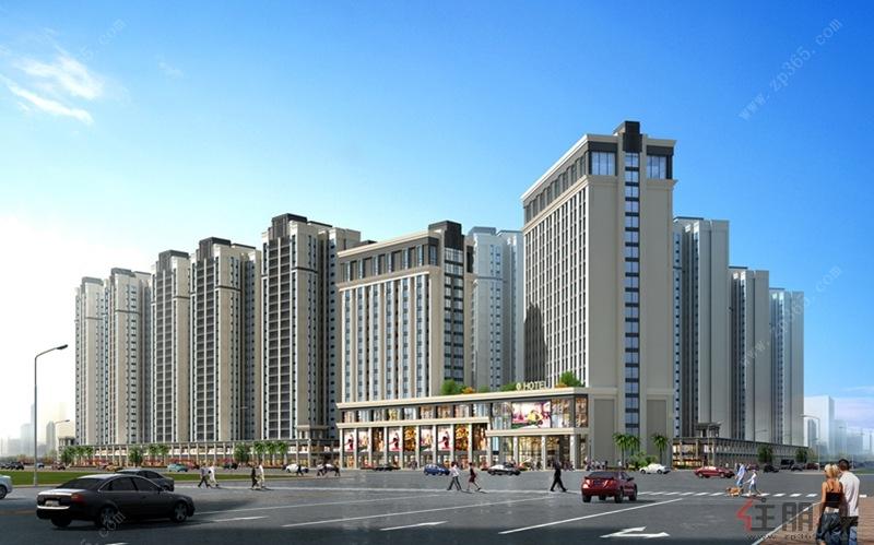 绿港阳光里在售户型为52--59-63㎡,该项目规划采用简欧建筑外观!