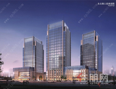 南寧信息港:近地鐵1號線,建面約315-375㎡精裝寫字樓在售!
