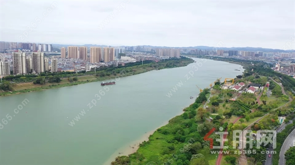 邕江及新秀公园航拍.png