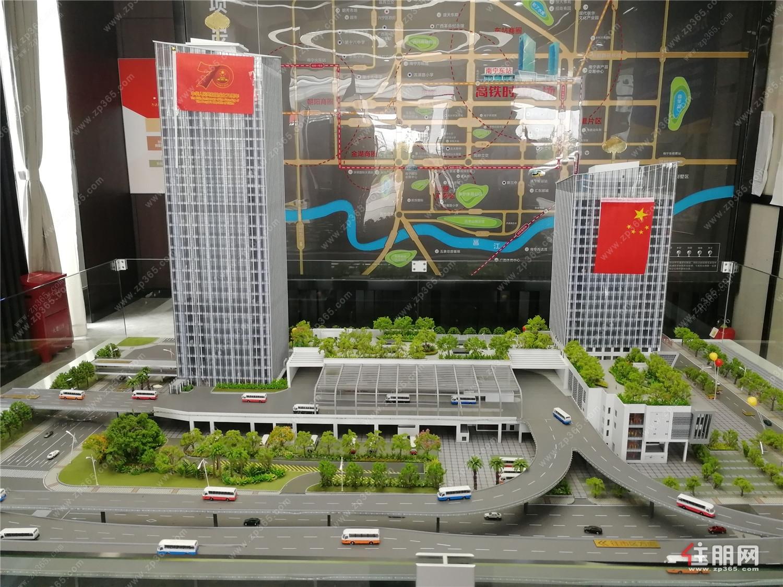 高铁时代广场:在售价格14000元/平方米