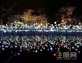 梧州恒大绿洲首届梦幻灯光节,炫彩来袭!