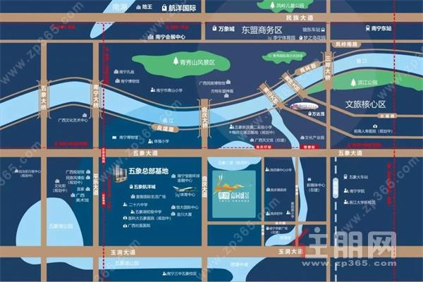 五象中央 地铁口 湖畔江景轻奢住区--意洲·嘉园盛景价值解析