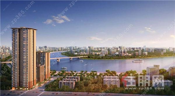 宋都·江韵朝阳——南宁市中心的一线江景房