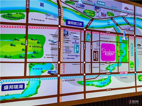 盛邦珑悦:一江两湖六公园,四号线良庆圩站仅400米