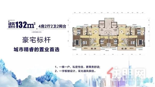 碧桂园·中央上城户型图