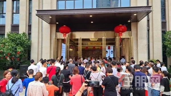 京贸·苏园苏式园林开放现场图
