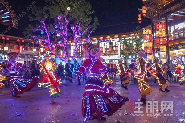 桂林融创国际旅游度假区无人机表演秀