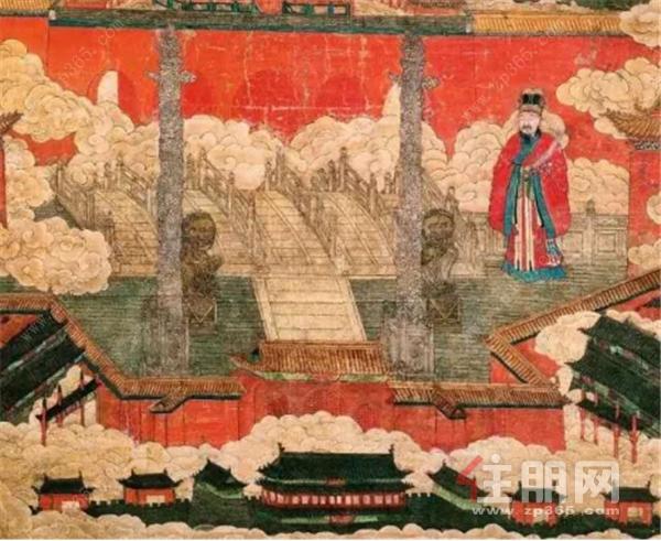 《明宫城图》完整保留香山帮鼻祖蒯祥画像