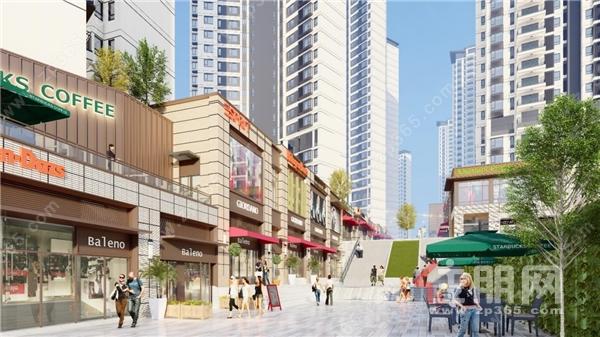 合景悠活加持商业街,五象湖东潮流聚集地正在崛起
